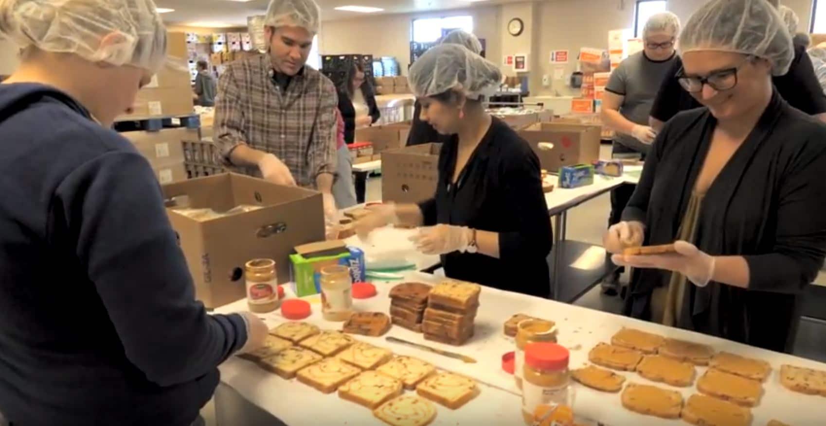 LaFleur Kids Food Basket Volunteering