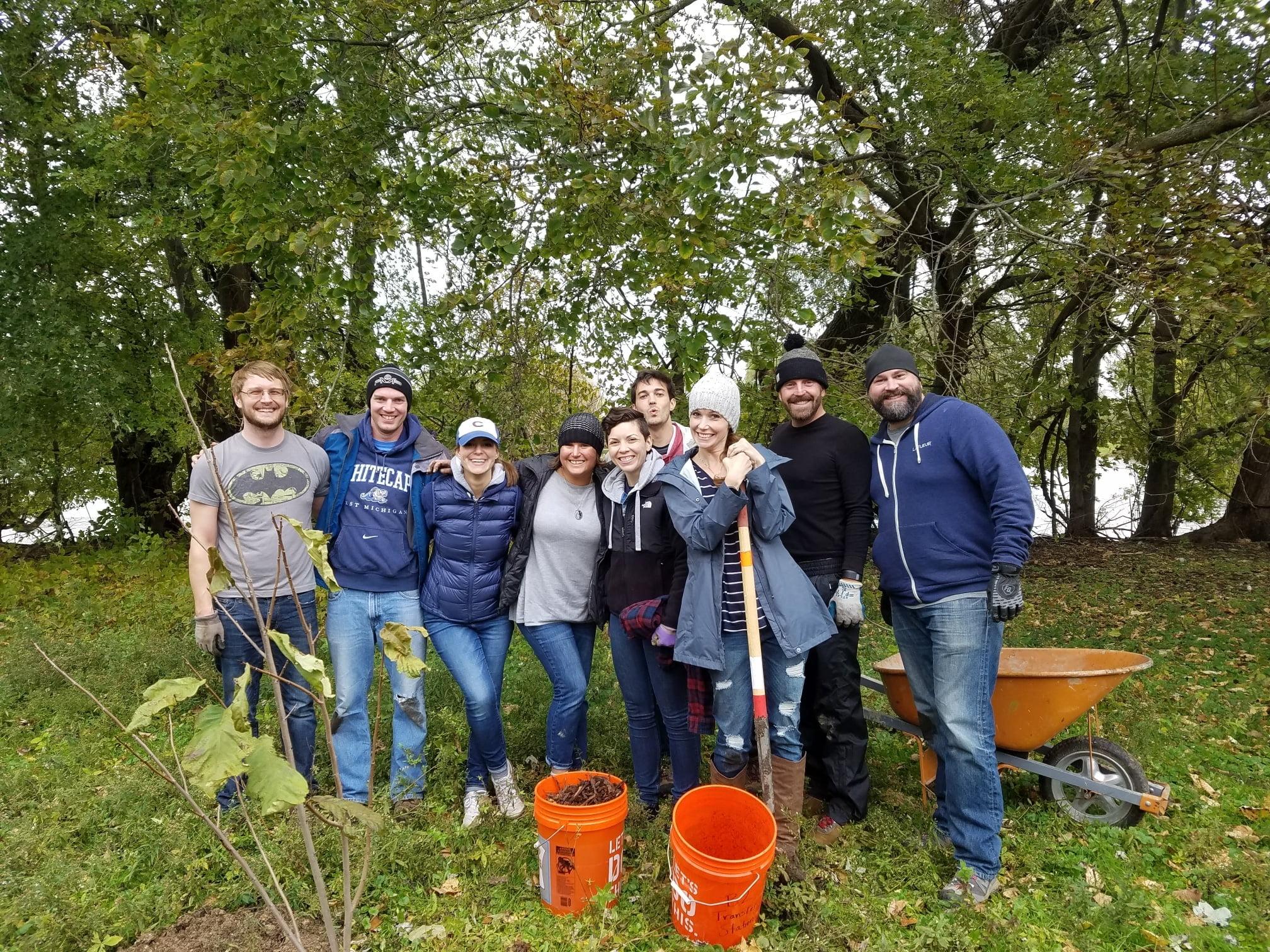 Friends of GR Parks LaFleur Volunteers