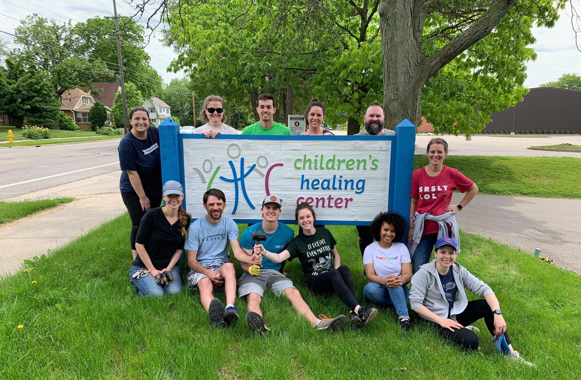 LaFleur Volunteers at Childrens Healing Center Grand Rapids